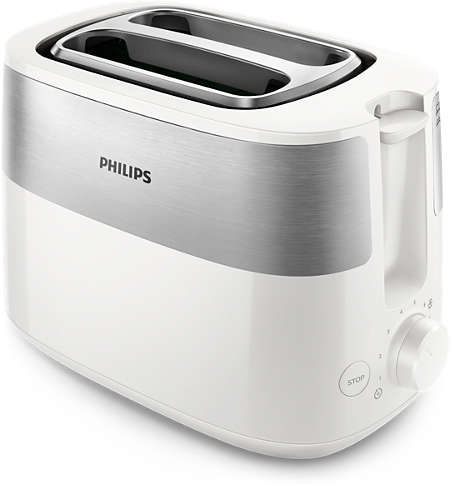 Тостер PHILIPS HD-2515/00 830Вт 2ломтика